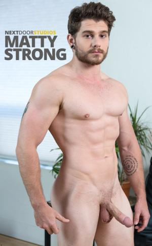 NextDoorMale – Matty Strong rubs one out
