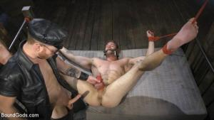 BoundGods – Ace Era Butt-Fucked Beaten and Bound by Sebastian Keys