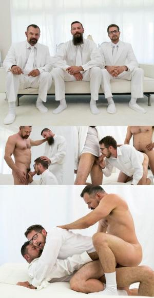 MormonBoyz – Brother Eyring Chapter 2 – Bonds Of Brotherhood – Bother Eyring, Brother Strang & President Ballard – Bareback