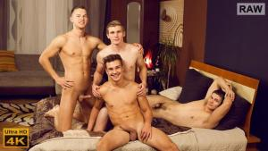 WilliamHiggins – Wank Party #89, Part 1 RAW – Dan Holan, Martin Hovor, Martin Polnak & Tomas Fuk -WANK PARTY