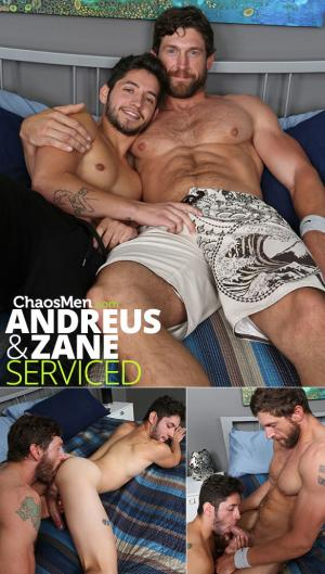 ChaosMen – Andreus & Zane feed each other their loads