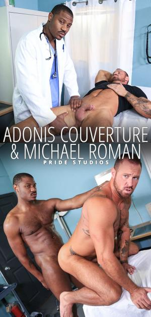 ExtraBigDicks – Wow Doc! – Adonis Couverture fucks Michael Roman