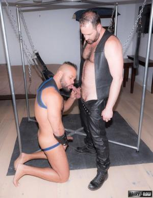 HairyandRaw – Butch Spencer & Damien Kilauea