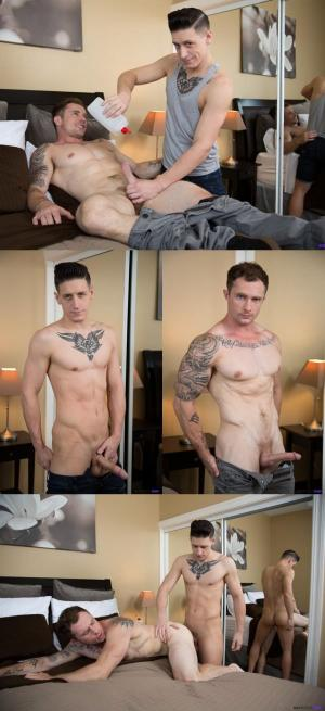 NextDoorRaw – Handjobs to Straight Ass – Markie More & Dalton Riley – Bareback