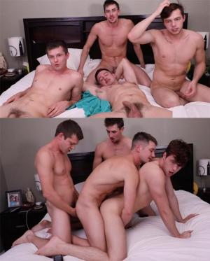 ColbyKnox – 4-Way with Jack Hunter and Christian Bay
