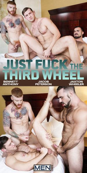 Men.com – Just Fuck the Third Wheel – Bennett Anthony & Jaxton Wheeler tag team Jacob Peterson – DrillMyHole