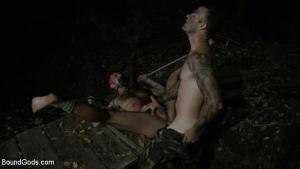 BoundGods – Wild Country: Hiker is Kidnapped, Bound, Fucked by Woods Survivalist – Chris Harder & Christian Wilde