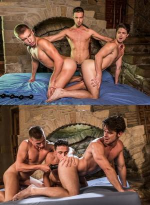 LucasRaunch – Boys And Adult Toys – Devin Franco, Damon Heart & Bogdan Gromov