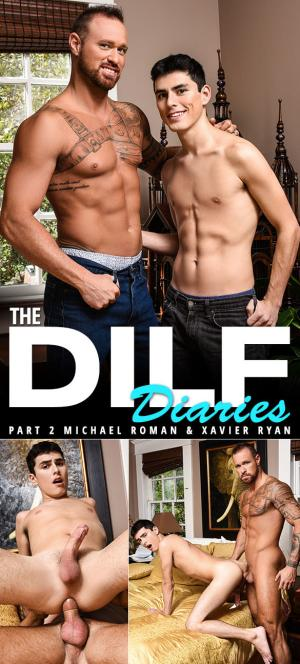 Men.com – The DILF Diaries Part 2 – Michael Roman bangs Xavier Ryan – DrillMyHole