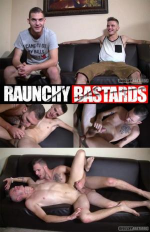 RaunchyBastards – Gutterpup Turned Out And Creamed – Bo Connor & Ian Odell – Bareback