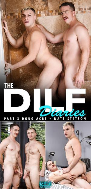 Men.com – The DILF Diaries Part 3 – Nate Stetson bangs Doug Acre – Str8toGay