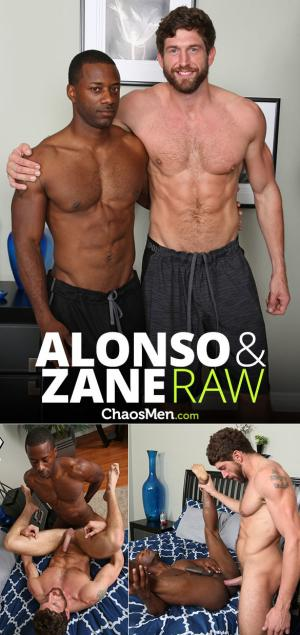 ChaosMen – Alonso & Zane creampie each other – Bareback