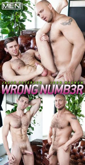 Men.com – Wrong Number – John Magnum fucks Jacob Peterson – Str8toGay