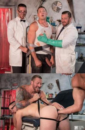 FistingCentral – Dr. FrankenFuck's Fist Lab – Hugh Hunter, Scotty Taylor & Pierce Paris