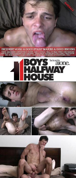BoysHalfwayHouse – Incident #162 – A Good Start Makes A Good Ending – Carter Michaels – Bareback