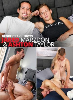 BrokeStraightBoys – Ashton Taylor barebacks Jared Marzdon's tight ass