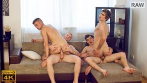 WilliamHiggins – Wank Party #90, Part 2 RAW – WANK PARTY – Filip Onalek, Karel Polak, Tom Vojak & Tomas Berger – Bareback