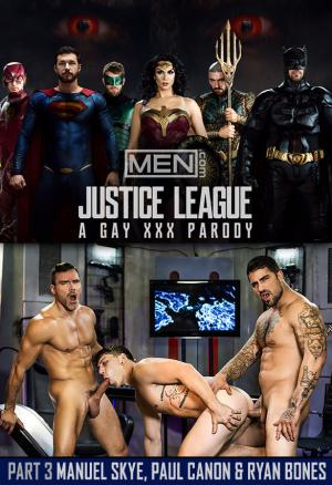 Men.com – Justice League: A Gay XXX Parody, Part 3 – Manuel Skye & Ryan Bones tag team Paul Canon – SuperGayHero