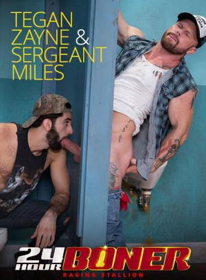 RagingStallion – 24 Hour Boner – Sergeant Miles gets serviced by Tegan Zayne