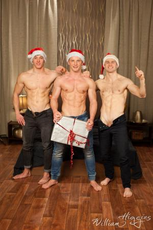 WilliamHiggins – Xmas Wank Party #91, Part 1 RAW – Alan Pekny, Ondra Taryk & Tomas Salek
