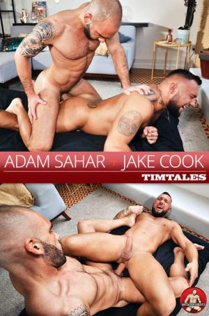 TimTales – Adam Sahar barebacks Jake Cook