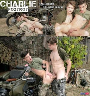 Staxus – Charlie Foxtrot, Sc.4: Battlefield Lovers Enjoy A Final Outdoor Push For Hard Cock! – Charlie Keller & Jaro Stone – Bareback
