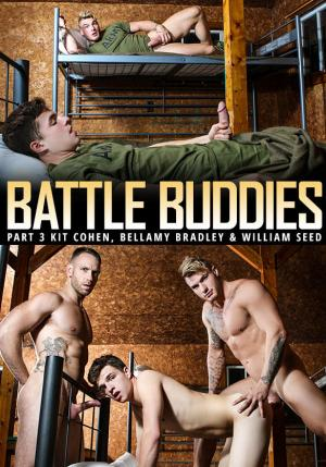 Men.com – Battle Buddies Part 2 – William Seed & Kit Cohen tag team Bellamy Bradley – DrillMyHole