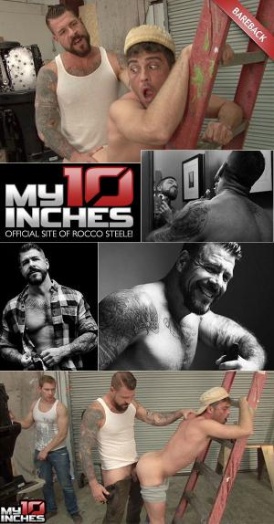 My10Inches – Rocco Steele Fucks Alex Adams & Lance Hart – Bareback