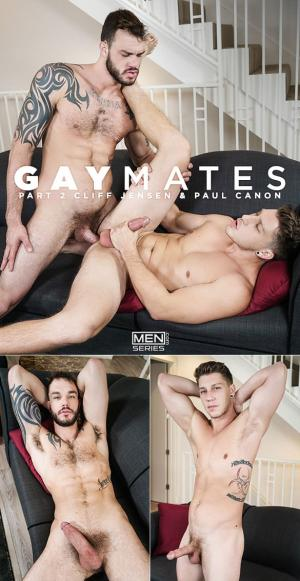 Men.com – Gaymates, Part 2 – Cliff Jensen fucks Paul Canon – Str8toGay