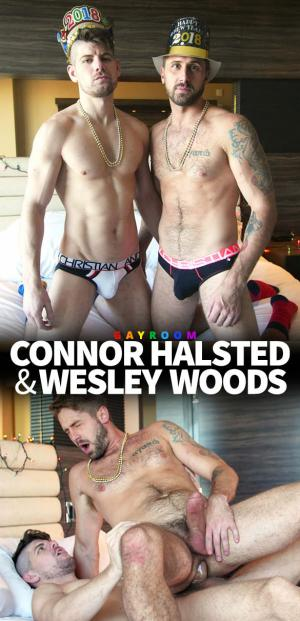 Manroyale – Happy New Year – Connor Halsted bangs Wesley Woods