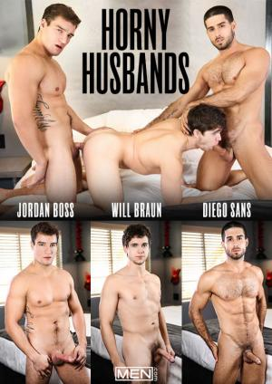 Men.com – Horny Husbands – Diego Sans & Jordan Boss tag team Will Braun – DrillMyHole