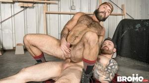 Bromo – The Lumber Yard – Jordan Levine & Teddy Bear – Bareback