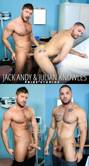MenOver30 – Muscle Tension – Jack Andy & Julian Knowles flip fuck