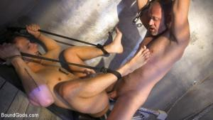 BoundGods – Inmate D.Arclyte Captures Correctional Officer, Nate Grimes