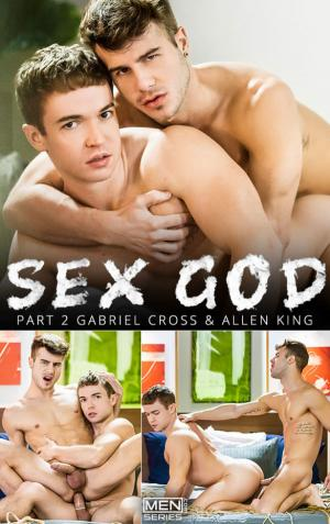 Men.com – Sex God, Part 2 – Gabriel Cross & Allen King flip fuck – DrillMyHole