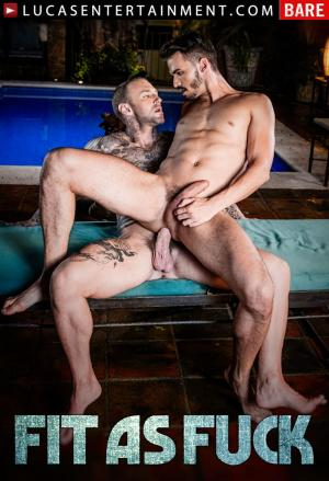 LucasEntertainment – Fit As Fuck Scene 4 – Dylan James Fucks Aaden Stark – Bareback