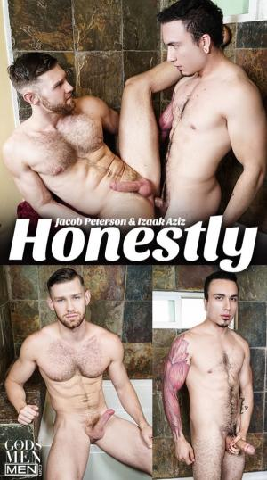 Men.com – Honestly – Izaak Aziz fucks Jacob Peterson – GodsofMen