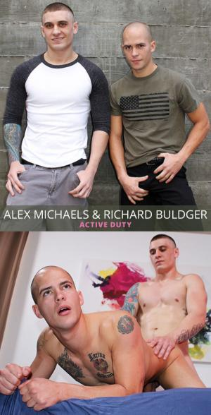 ActiveDuty – Alex Michaels fucks Richard Buldger bareback