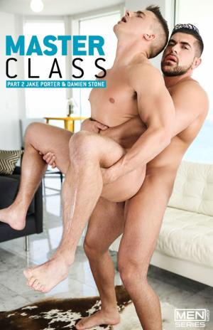 Men.com – Masterclass, Part 2 – Damien Stone fucks Jake Porter – DrillMyHole