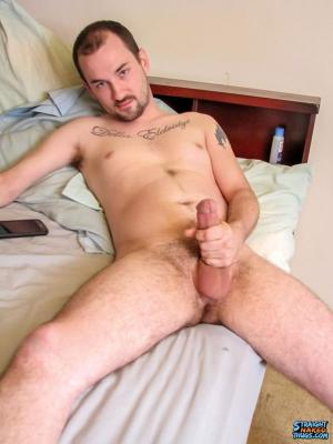 StraightNakedThugs – Inked Boy Enjoying Porn – Paradox