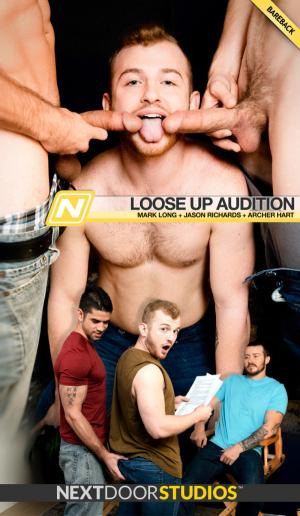 NextDoorStudios – Loose Up Audition – Mark Long & Jason Richards Tag-team Archer Hart – Bareback