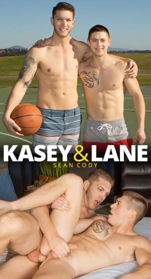 SeanCody – Newcomer Kasey has gay sex for the first time with power bottom Lane – Bareback