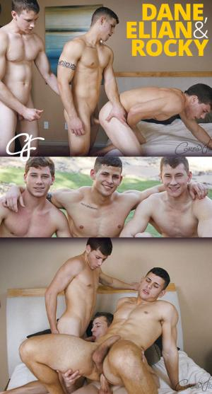 CorbinFisher – Dane, Elian & Rocky fuck around – Bareback