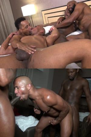 BlackBreeders – The Four The Merrier – Champ Robinson, Troy Sparks, Marc Dupree & Rude Rasta – Bareback