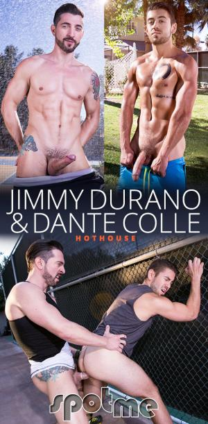 HotHouse – Spot Me – Jimmy Durano fucks two loads out of Dante Colle