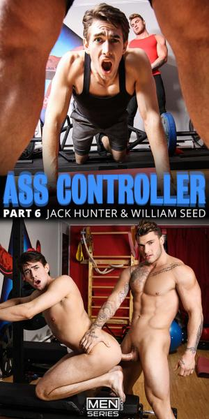 Men.com – Ass Controller, Part 6 – William Seed bangs Jack Hunter – DrillMyHole