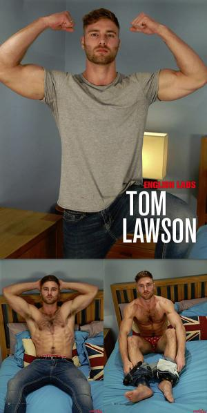 EnglishLads – Straight Hairy Hunk Tom Lawson gets his 1st Manhandling and Wow Cums, Cums & Cums Some More!