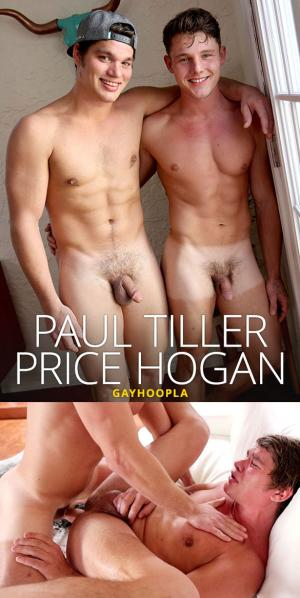 GayHoopla – Price Hogan pops Paul Tiller's ass cherry