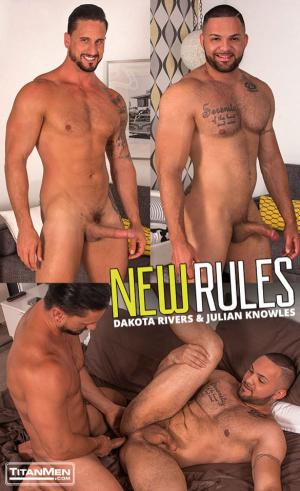 TitanMen – New Rules – Julian Knowles gets fucked by Dakota Rivers