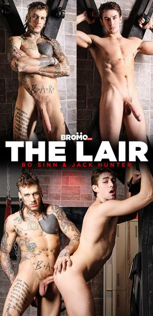 Bromo – The Lair – Jack Hunter gets fucked raw and deep by Bo Sinn and his massive cock